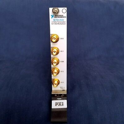 National Instruments NI PXI-2545 2.7 GHz, 50 Ω, 4x1 RF Multiplexer Switch Module