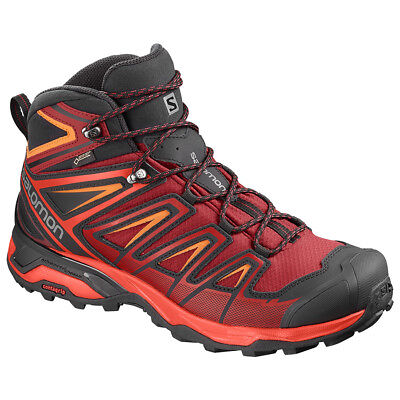 Salomon X Ultra 3 Mid GTX Trekking Schuhe Art. 404680 Red Gr. 41 1/3 - 48 NEU