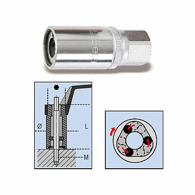 """Beta Tools / Workshop 8mm 1/2"""" Square Drive Roller Stud Extractor / Remover"""