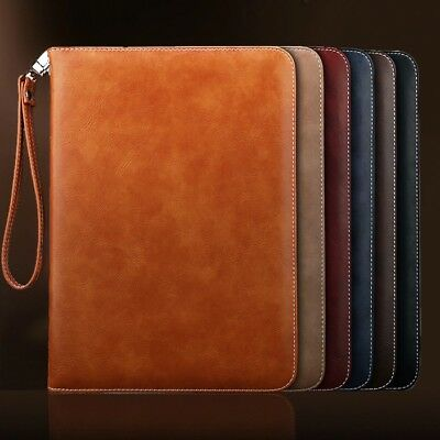 Genuine Luxury Leather Smart Case Cover for New Apple iPad Mini 234 Air Pro 2018