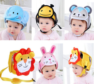 Baby Toddler Safety Shatterproof Helmet Headguard Cap Protective Harnesses Hats