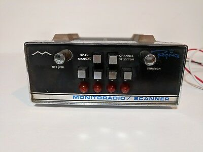 Vintage Regency Monitor radio / scanner CB Radio