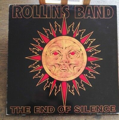 Rollins Band ‎– The End Of Silence ~ 2 x LP Post Punk Original 1992