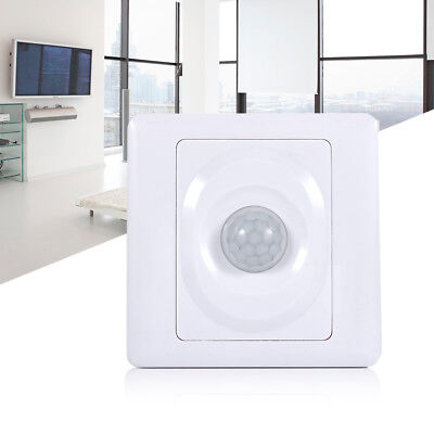 86MM Body Motion Sensor Switch Infrared Wall Mount LED Light Lamp Control