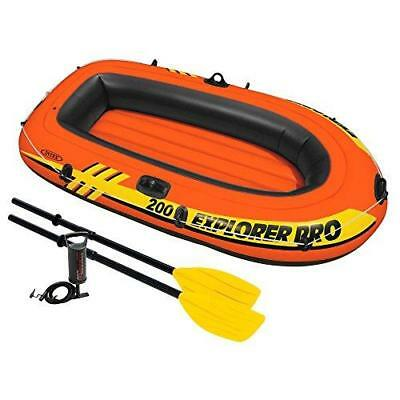 Intex 200 Explorer Pro Inflatable Boat Set