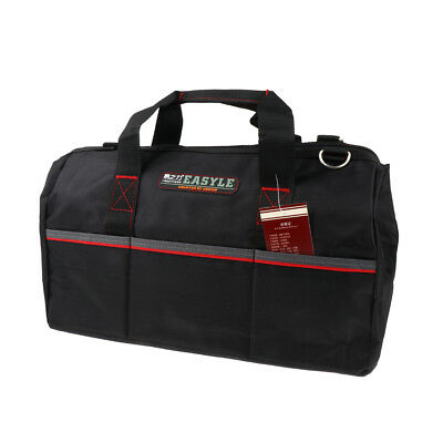 16 Inch Oxford Cloth Electrician Tool Bag Tote Case Easy to Carry