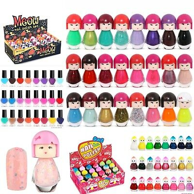 Kids childrens girls Novelty Nail polish / Varnish - Doll / Cat / Baby