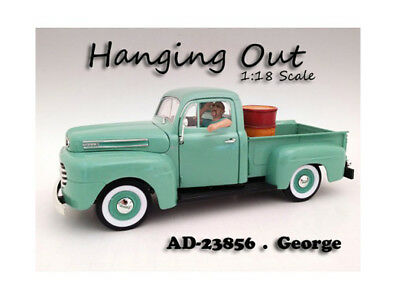 "Hanging Out"" George Figure For 1:18 Scale Models by American Diorama"""