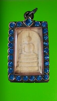 Phra Somdej Is The Best Amulet Of Thailand Old Silver Case