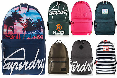 New Superdry Bags Selection - Various Styles & Colours 0307