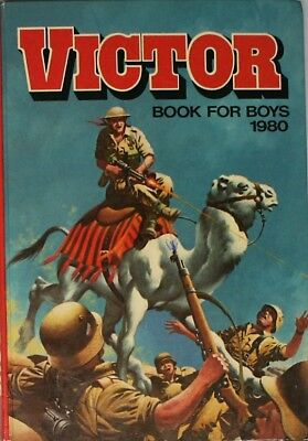 VICTOR BOOK FOR BOYS 1980 ( ANNUAL ), various, Very Good Book