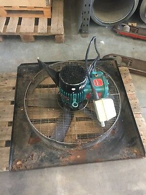 Industrial Spraybooth Fan 710 Dia 3ph 15000m3/hr Atex flameproof motor tested