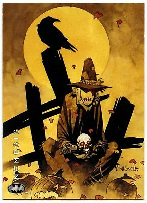 The Scarecrow #51 Batman: Saga Of The Dark Knight 1994 Skybox Trade Card (C1316)