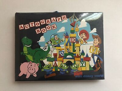 Disney Parks Toy Story Land Autograph Book New Sealed