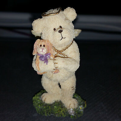Boyds Collection - Lil' Wings Bear - Bunnyluv #24161 - 2E Angel Theme