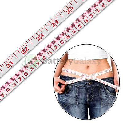 """50X Body Measuring Ruler Sewing Cloth Tailor Tape Measure Soft Flat 60"""" /150cm"""