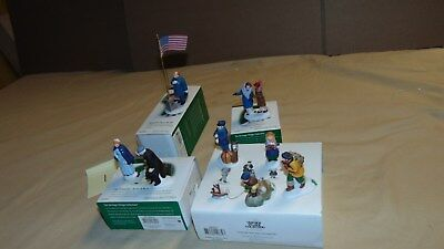Dept. 56 Christmas In The City And Other Acces. Lot Of 4 In Original Boxes ...#1