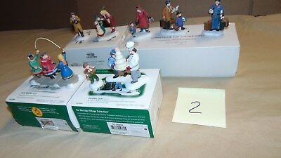 Dept. 56 Christmas In The City And Other Acces. Lot Of 4 In Original Boxes ...#2