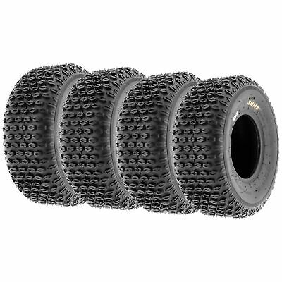Set of 2 SunF  ATV UTV Tires 25x8-12 25x8x12 Sport 6 PR A021 Tubeless