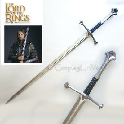 """41"""" LOTR Lord of the Rings Aragorn Anduril Foam Blade Sword Of King Elessar New"""