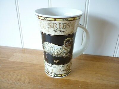 DUNOON SIGN OF THE ZODIAC ~ARIES~ MUG~ Jack Dadd Design~