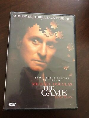 "THE GAME DVD Michael Douglas ""A Must See Thriller..A True '10'"""