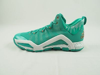 new concept 51fa0 5c4eb adidas Crazyquick Techfit - TealWhite Basketball Shoes (Mens 14.5) - Used