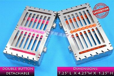 Sterilizing Rack For 7 Instruments Detachable Premium Grade German 2Pcs