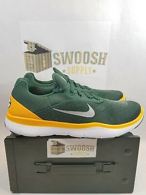 new arrival 208d2 f1868 Nike Green Bay Packers Free Trainer V7 Ltd Edition Shoes AA1948-301 Size 15