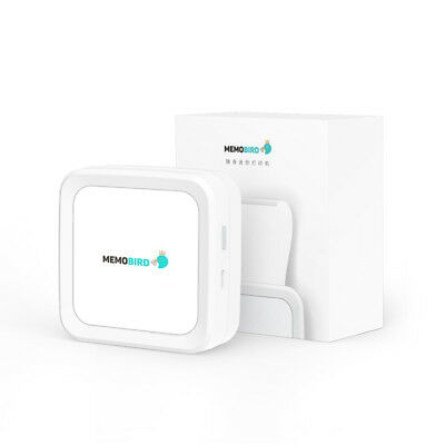 MEMOBIRD G3 Portable Wireless Bluetooth Printer Phone Photo For Android IOS WH
