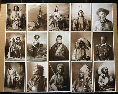 American Indian Postcards - Lot of 43 Different , western Vintage