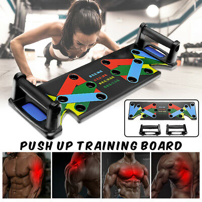 Multifunctional Push Up Board Body Training System Fitness Workout Gym Exercise