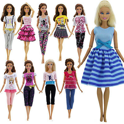 Pants Short Skirt Casual Outfit Dress Clothes for Barbie 11.5 in. Doll Accessory