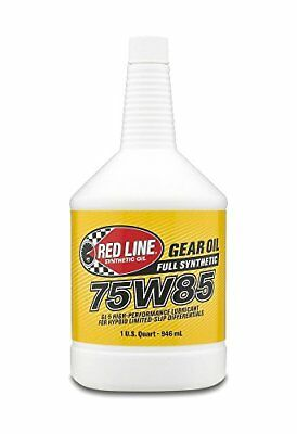 Red Line 50104 75W85 GL-5 Gear Oil, 1 Quart, 1 Pack