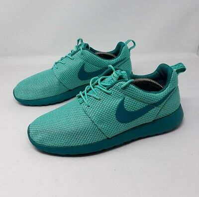 76c443c6f7fa Nike Rosherun One (Men s Size 11.5) Bleached Turquoise Catalina RARE