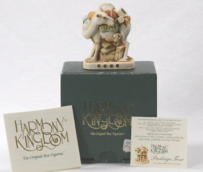 HARMONY KINGDOM  Package Tour TJCM Retired w/ Orig Box COA EXCELLENT