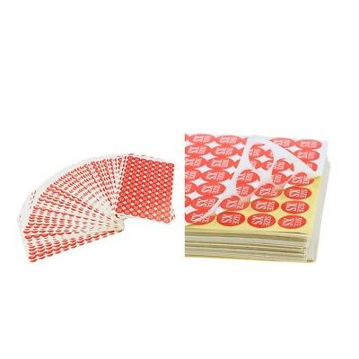 Various SizeClothing Size Stickers Color Coded Adhesive Labels Sizes Apparel
