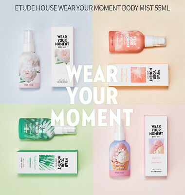 ETUDE HOUSE - WEAR YOUR MOMENT BODY MIST 55 ml ( KOREA Authentic Genuine )