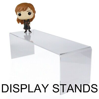 Display stand- Clear Acrylic Retail Display Shelves Risers Plinths by Hoverstand