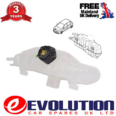 Coolant Expansion Tank With Lid Fits Renault Clio, Grand Modus 7701477290