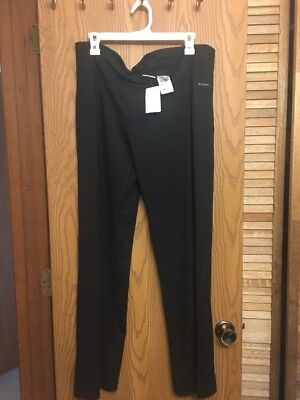 "NEW COLUMBIA Women Anytime Exercise sport Pant size XL  Inseam: 32"" Black NWT"