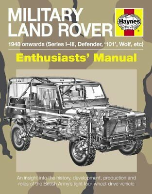 Military Land Rover Manual by Pat Ware 9781785210969 (Paperback, 2016)