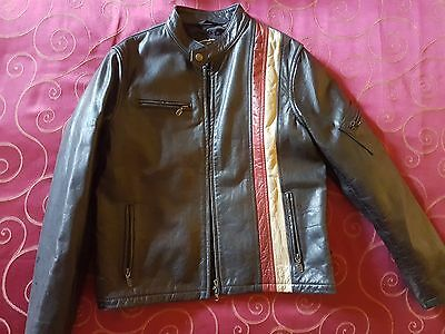 BELSTAFF X-MEN CYCLOPS Leather RACING Blouson Size 12 XS MOTORCYCLE RARE
