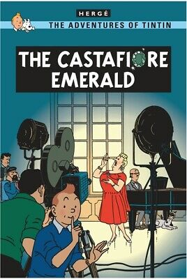 The adventures of Tintin: The Castafiore emerald by Herg (Paperback)