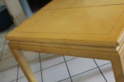 HENREDON chinese accent dining table TABLE ONLY