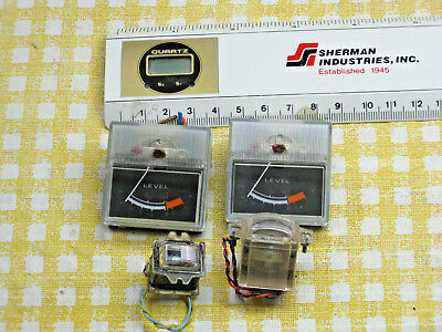 Pair of Analog VU Meters, Other Level Meters Tested