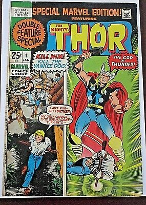Special Marvel Edition No.1 Jan., 1971 // Thor Double Feature **free Ship**
