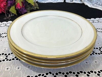 CHARTER CLUB GRAND BUFFET Silhouette Gold 4 Piece Place Setting New ...