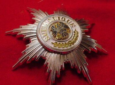 German Empire Prussia  Medal - Star Of The Black  Eagle Order