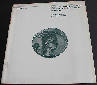 Coins Of The Ancient & Modern World & Of The United States Of America 1981